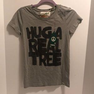 NWT Lucky Brand Organic Tee Shirt